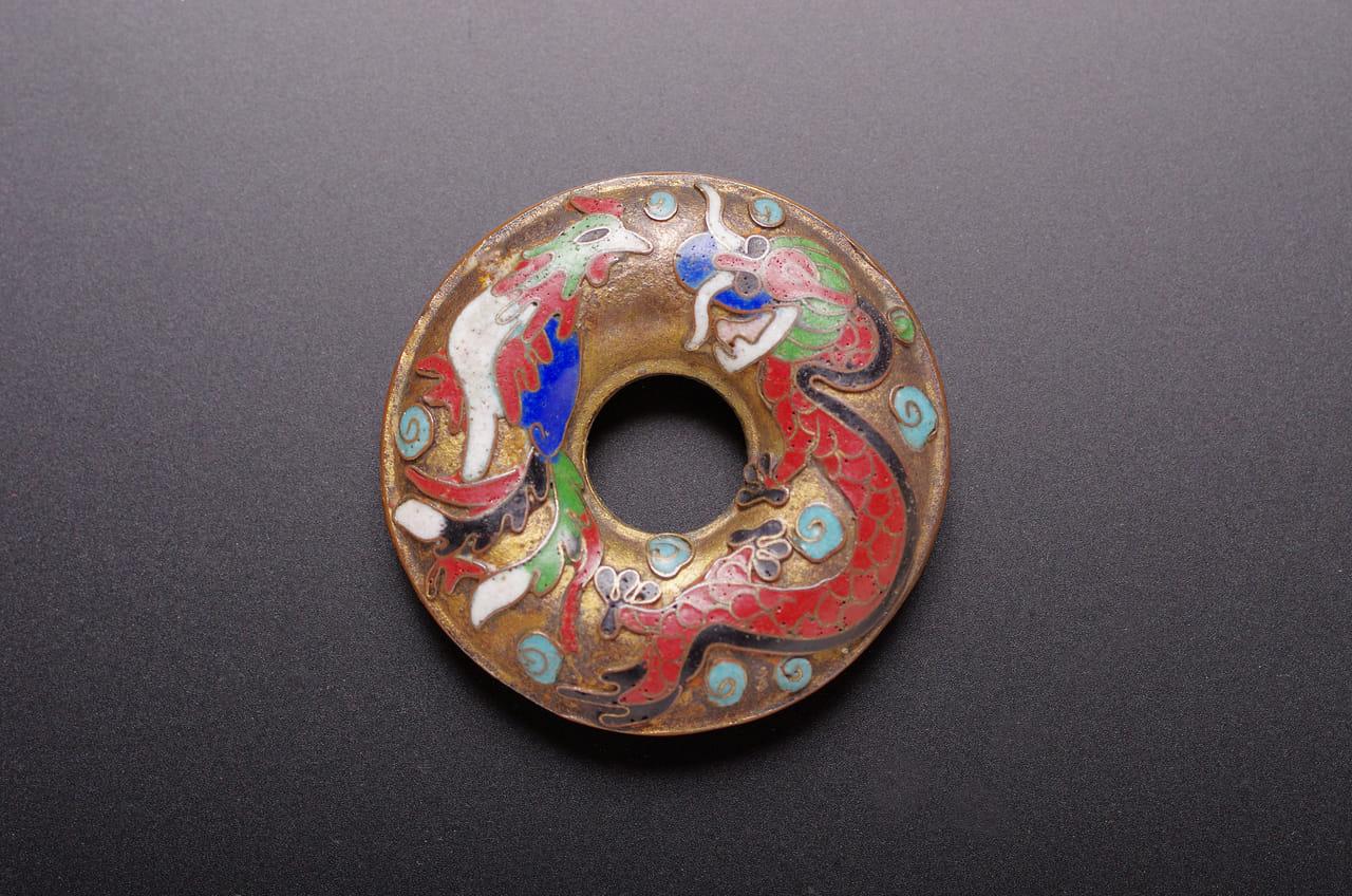 中国七宝帯留