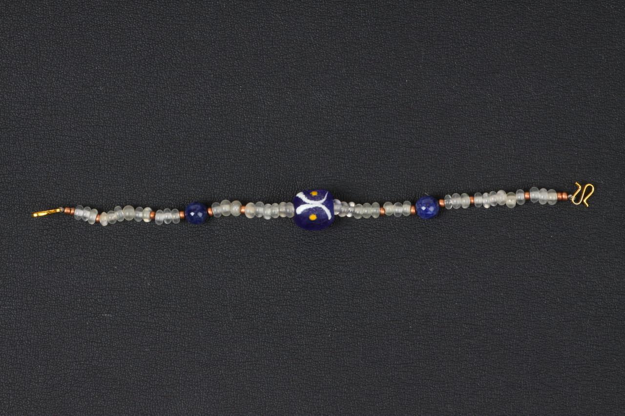 アンティークトンボ玉の羽織紐